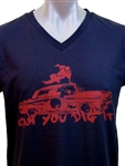 Can You Dig It V-Neck T-Shirt