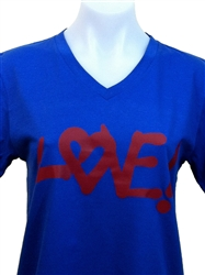 LOVE V-Neck T-Shirt