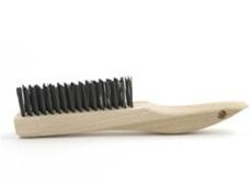 Brush Research B-844 Hand Scratch Brush Shoe Handle