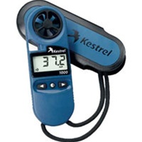 Kestrel 1000 Pocket Wind Meter, Color: Blue