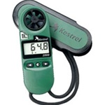 Kestrel 2000 Pocket Thermo Wind Meter, Green