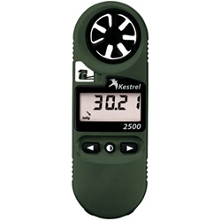 Kestrel 2500NV Pocket Weather Meter Olive Drab