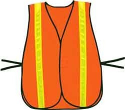 "OK-1 OK-COV2 Non-ANSI Washable Polyester Hook & Loop Vest Size:XL (50-60"")"