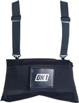 "OK-1 OK-200S Double Closure System, Detachable 1.5"" wide suspenders."