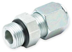 Parker 10 F5BU-S Straight Thread Connector, Tube 5