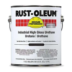 Rust-Oleum 9479402 Black High Gloss Polyester Urethane ,Size:1 Gal.