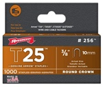 Arrow Fastener 256 T25 3/8 Inch (10mm) Staples, 1000/Pk