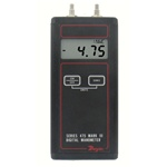 "Dwyer 475-2-FM Handheld digital manometer, 0-40.00"" w.c."