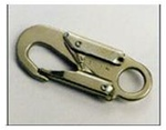 "Gemtor 3155 Alloy Steel Locking Snaphook, 5/8"" Gate Opening"