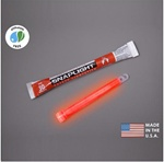 "Cyalume 9-08002 6"" SnapLight Color: Red,12 hr, Per Each"