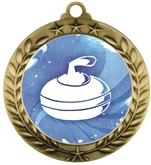 Curling Medal