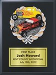 Hot Rod Plaque