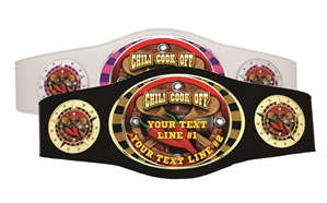 Champion Belt | Award Belt for Chili-Cook-off