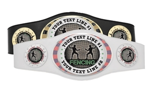 Champion Belt | Award Belt for Fencing