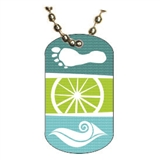 Triathlon Dog tag