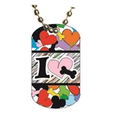 Dog Lovers Dog tag