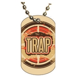 Trap Shooting Dog tag