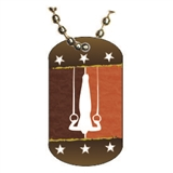Gymnastics Dog tag