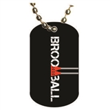 Broomball Dog tag