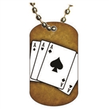 Poker Dog tag