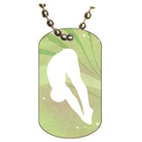 Diving Dog tag