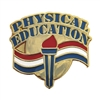 Physical Education Lapel Pin