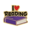 Reading Lapel Pin