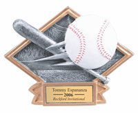 Baseball Sculpted Resin Trophy