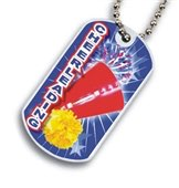 Cheer Leading Dog tag