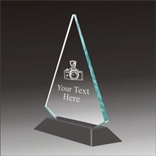 Pop-Peak photography acrylic award