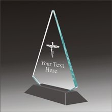 Pop-Peak religion acrylic award