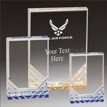 Military Jewel Mirage acrylic award