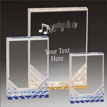 Music Jewel Mirage acrylic award