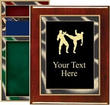 Piano Finish Martial Arts Award Plaque