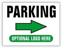 Event Parking Sign - Parking Directional