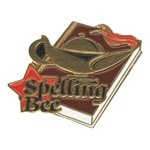 Spelling Bee Pin
