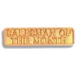 Salesman of the Month Pin