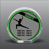 Full Color Printed Dance Acrylic Award