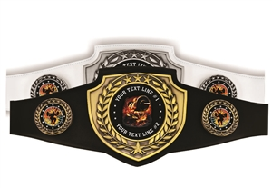 Champion Belt | Award Belt for Weight Lifting