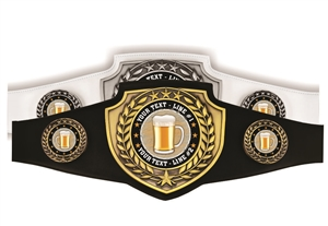 Champion Belt | Award Belt for Beer