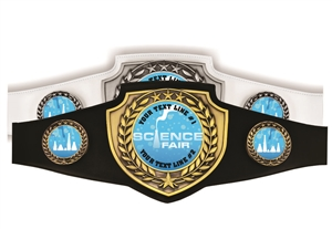 Champion Belt | Award Belt for Science