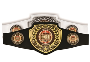 Champion Belt | Award Belt for Skeet Shooting