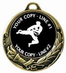 Martial Arts Medal 2-3/4""
