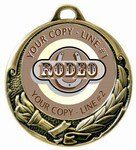 Rodeo Medal 2-3/4""
