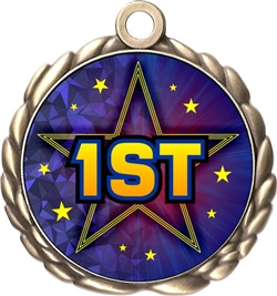 1st Place Award Medal