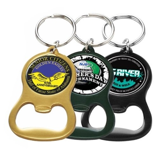 Anodized Bottle Opener Keytag