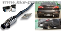 HKS Hi-Power Exhaust (Single) Evo X