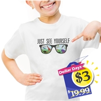 """Just see yourself"" T-shirts"