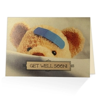 Get Well scriptural greeting card based on Isaiah 33:24