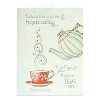 Let someone know you appreciate their hospitality with this fun scriptural greeting card